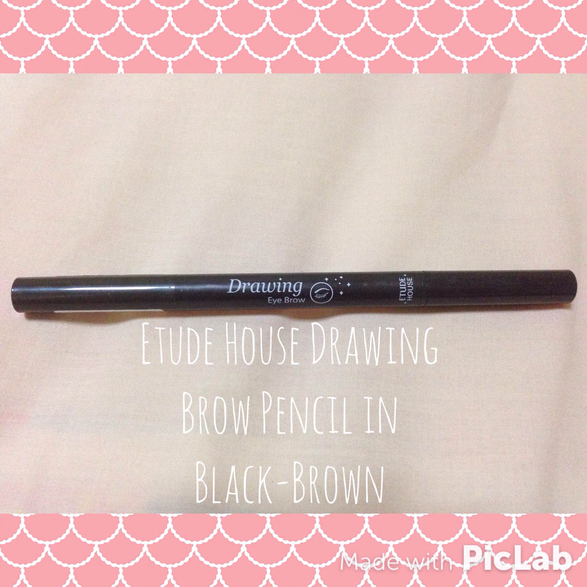 Review Etude House Drawing Brow Pencil In Black Brown Sydsunshine