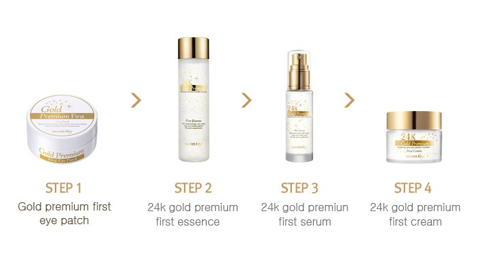 Review: Secret Key 24K Gold Premium First Essence + Serum ...